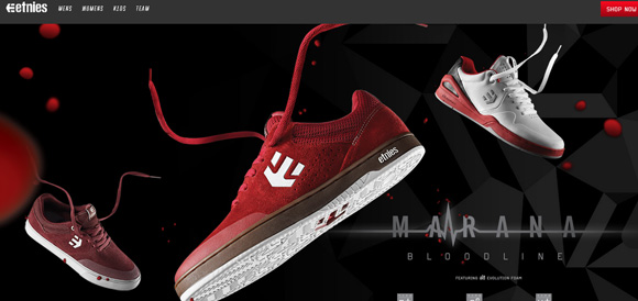etnies-full-website-design